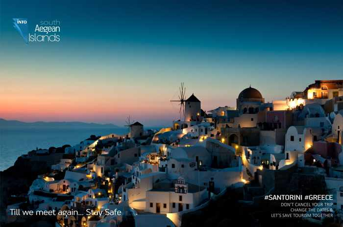 Oia village Santorini photo from South Aegean islands page on Facebook