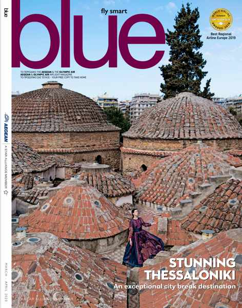 March-April 2020 edition of Aegean Airlines Blue Magazine