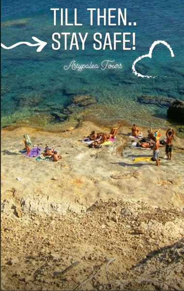 Beach photo from Astypalea Tours