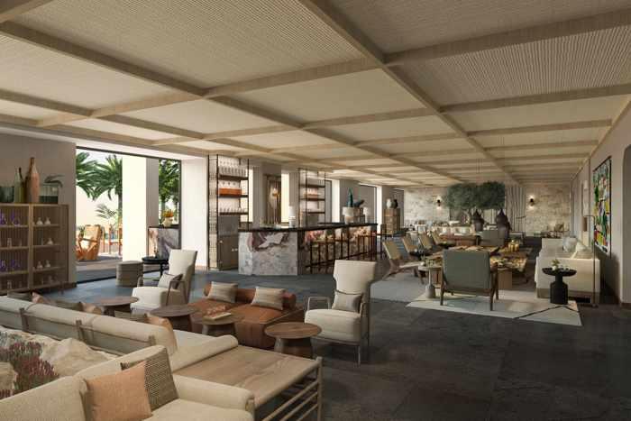 The Royal Senses Resort Crete Lobby Bar