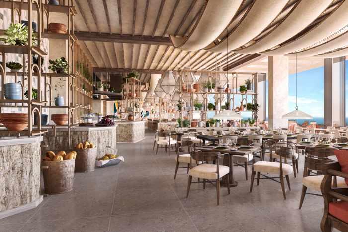 The Royal Senses Resort Crete Main Restaurant
