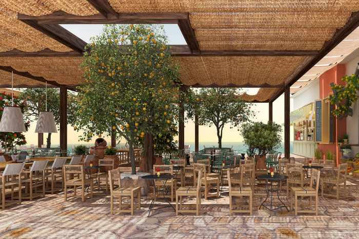 The Royal Senses Resort Crete MarketPlace_
