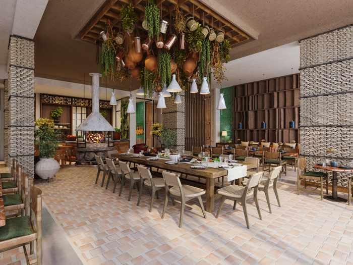 The Royal Senses Resort Crete A la Carte restaurant