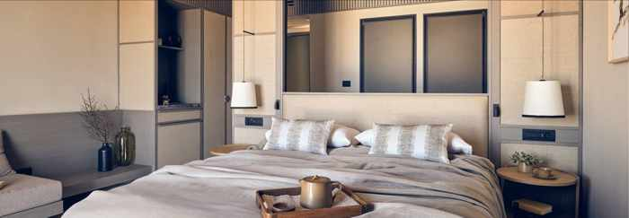 The Royal Senses Resort & Spa Crete superior seaview double room interior