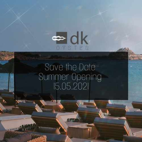2021 opening announcement for DK Oyster restaurant on Mykonos