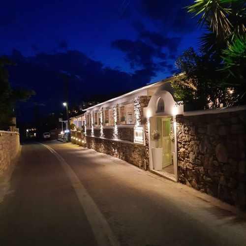Vasilikos Bar Restaurant at Agios Ioannis on Mykonos