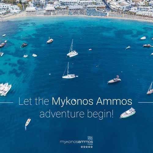2021 season promotion for Mykonos Ammos Hotel