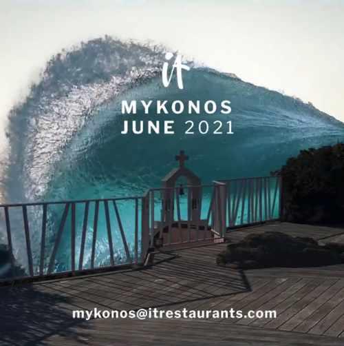 IT Restaurant on Mykonos