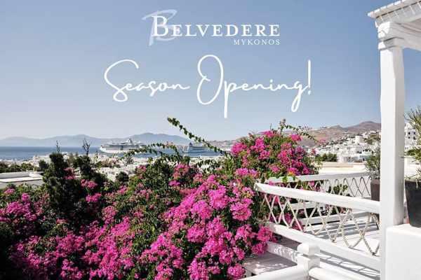 Belvedere Mykonos hotel opening announcement