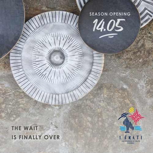 I Frati restaurant Mykonos opening date 2021
