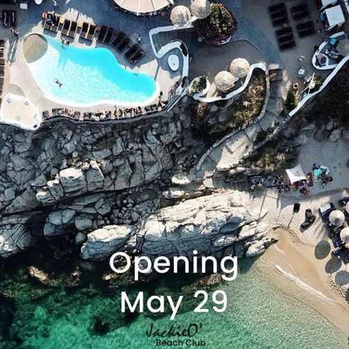 JackieO Beach Club Mykonos 2021 opening