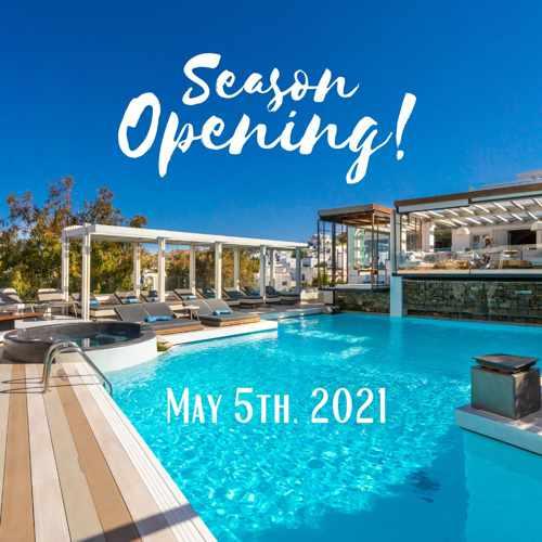 Semeli Hotel Mykonos 2021 season start date