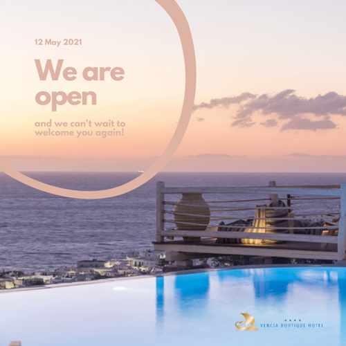 Vencia Hotel Mykonos 2021 opening