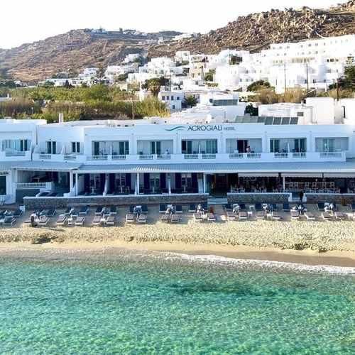 Acrogiali Hotel on Mykonos