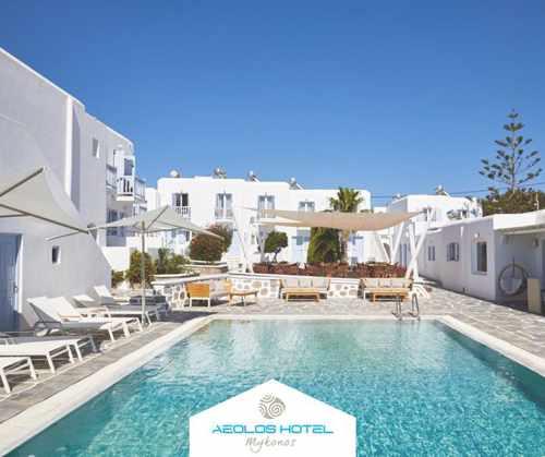 Aeolos Resort on Mykonos