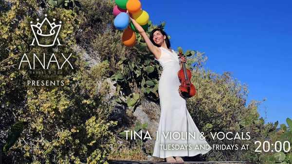 Anax Resort Mykonos presents Tina Psalida during summer 2021