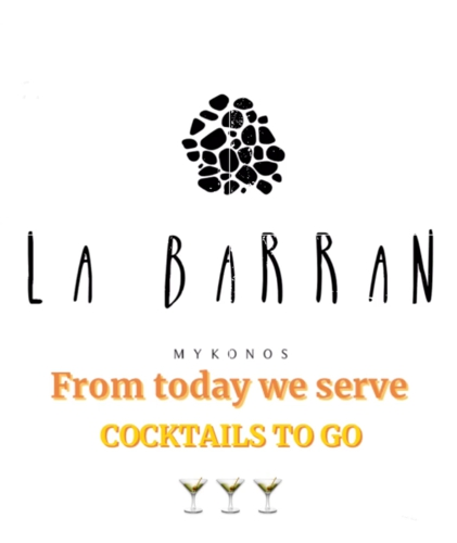 La Barran Bar in Mykonos