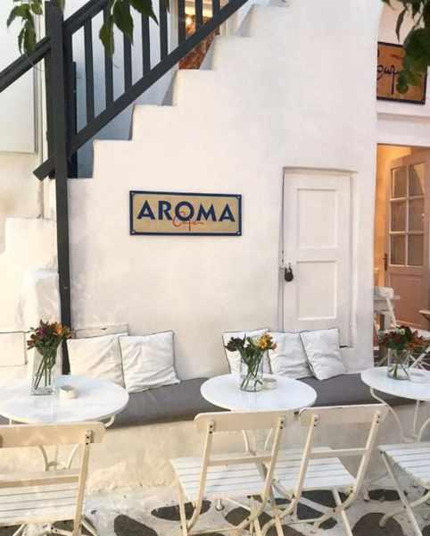 Aroma Cafe Bar in Mykonos