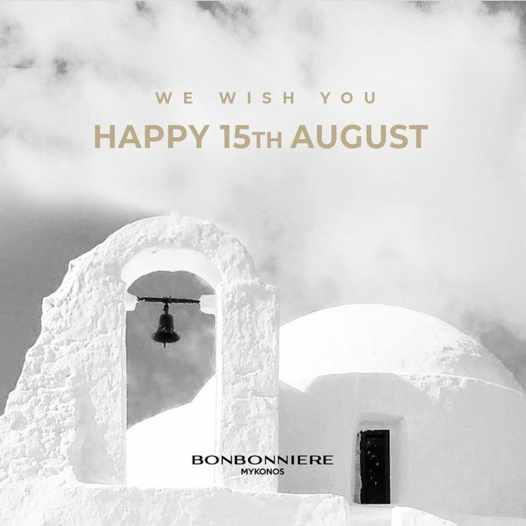 August 15 2021 social media post by Bonbonniere nightclub in Mykonos