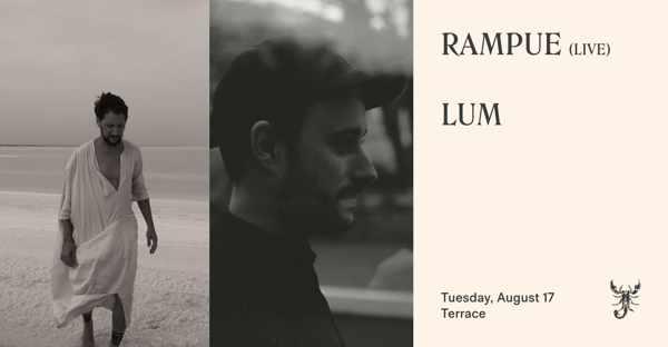 August 17 2021 Scorpios Mykonos presents Lampue and Lum