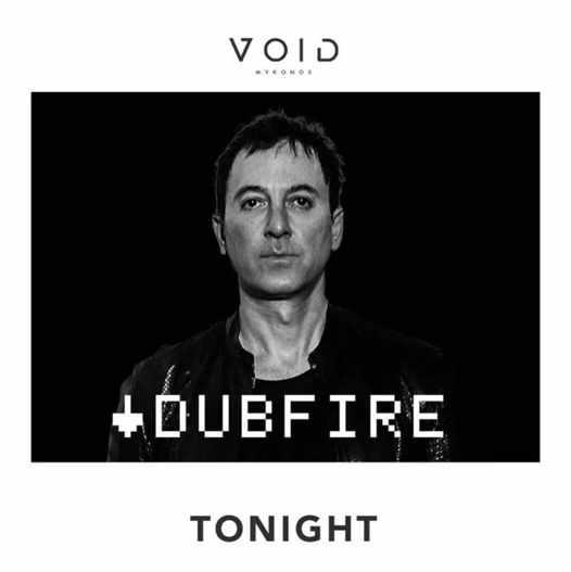 August 17 2021 Void club Mykonos presents Dubfire