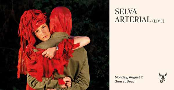 August 2 2021 Sunset Ritual with Selva Arterial at Scorpios beach club on Mykonos