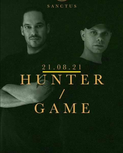 August 21 2021 Sanctus club on Mykonos presents Hunter Game