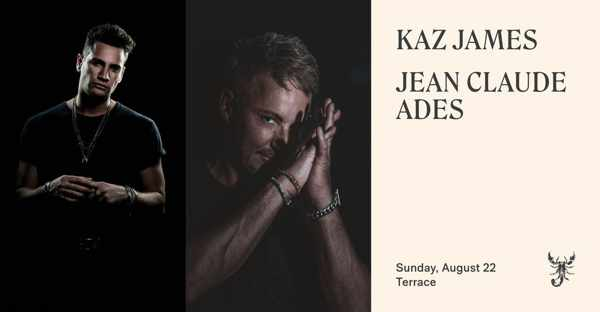 August 22 Scorpios Mykonos sunset ritual with Kaz James and Jean Claude Ades