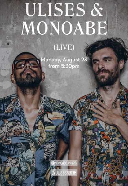 August 23 2021 Scorpios beach club Mykonos presents Ulises and Monoabe