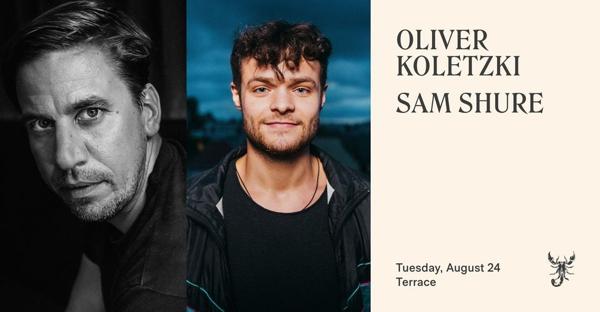 August 24 2021 Scorpios Mykonos presents Oliver Koletzi and Sam Shure