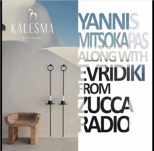 August 26 2021 Kalesma Hotel Mykonos presents Yannis Mitsokapas and Evridiki