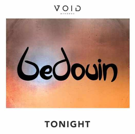 August 27 2021 Bedouin plays at Void club on Mykonos