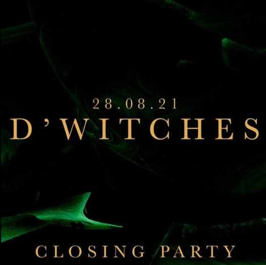 August 28 2021 Sanctus club on Mykonos closing party with music by DWitches