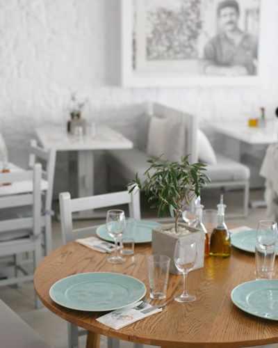 Avli tou Thodori restaurant on Mykonos
