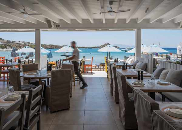 Avli tou Thodori Mykonos seen in an image from the restaurants social media pages