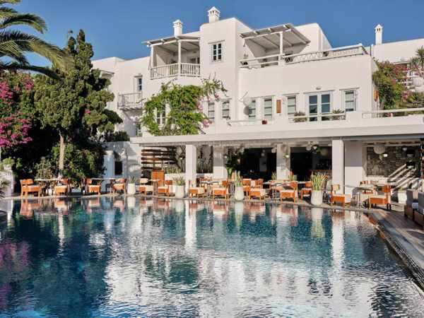 Belvedere Hotel on Mykonnos
