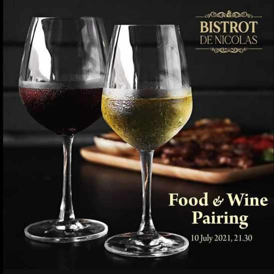 Bistrot de Nicolas wine and food pairing event