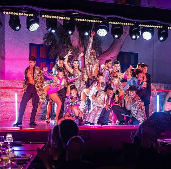 Lio Mykonos cabaret show cast