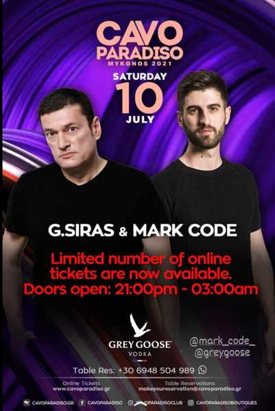 Cavo Paradiso Mykonos announcement concerning its July 10 show