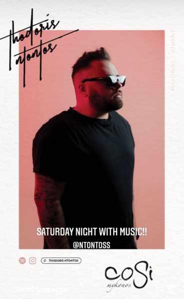 Cosi Bar music event June 12 2021