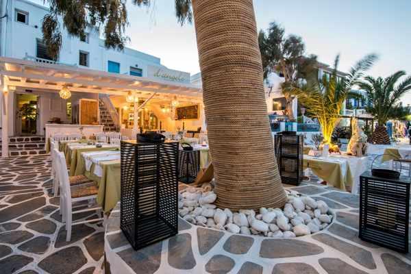 D'Angelo restaurant on Mykonos