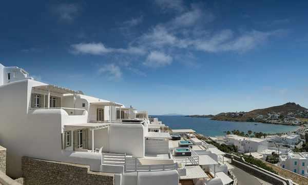 Deliades Hotel on Mykonos