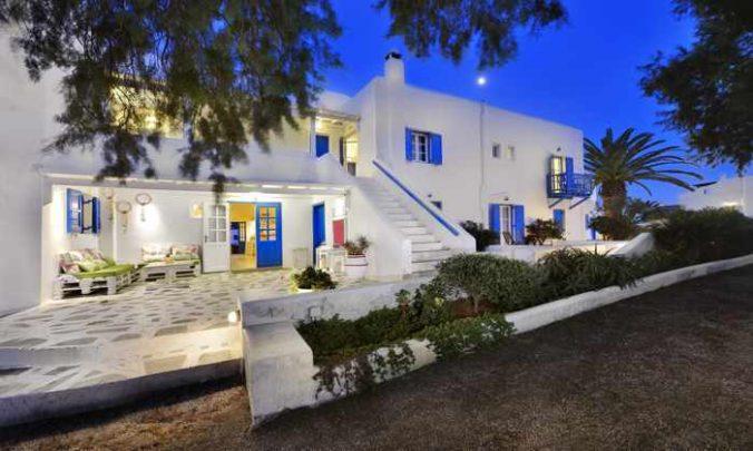 Erato Hotel on Mykonos