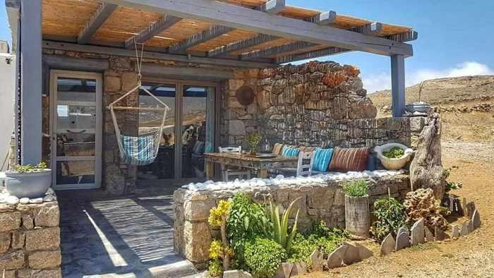 Ftelia Surf House on Mykonos