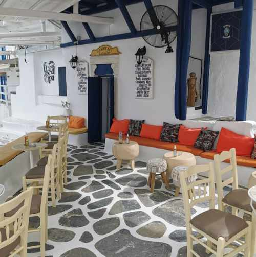 Galleraki Bar on Mykonos