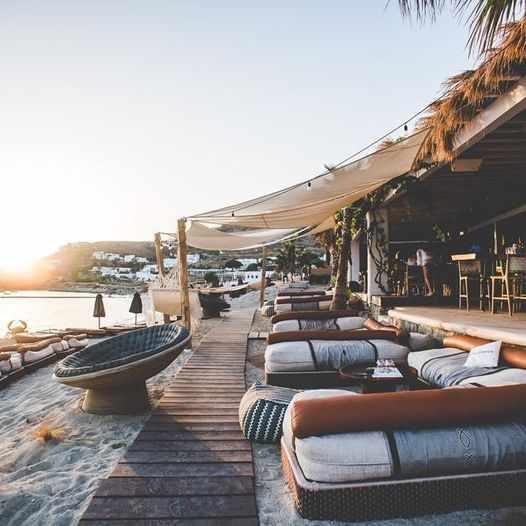 Hippie Fish beach club Mykonos