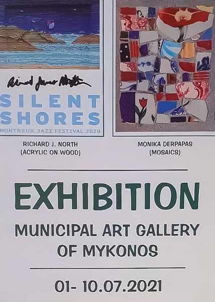 Mykonos Municipal Art Gallery exhibitions July 1 to 10 2021