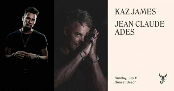 Scorpios Mykonos presents Kaz James and Jean Claude Ades