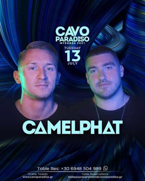 Cavo Paradiso Mykonos presents Camelphat