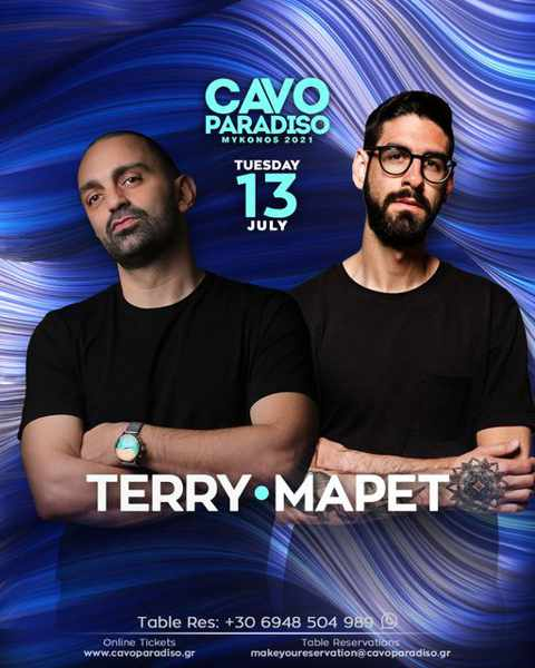 Cavo Paradiso presents DJs Terry and MaPet